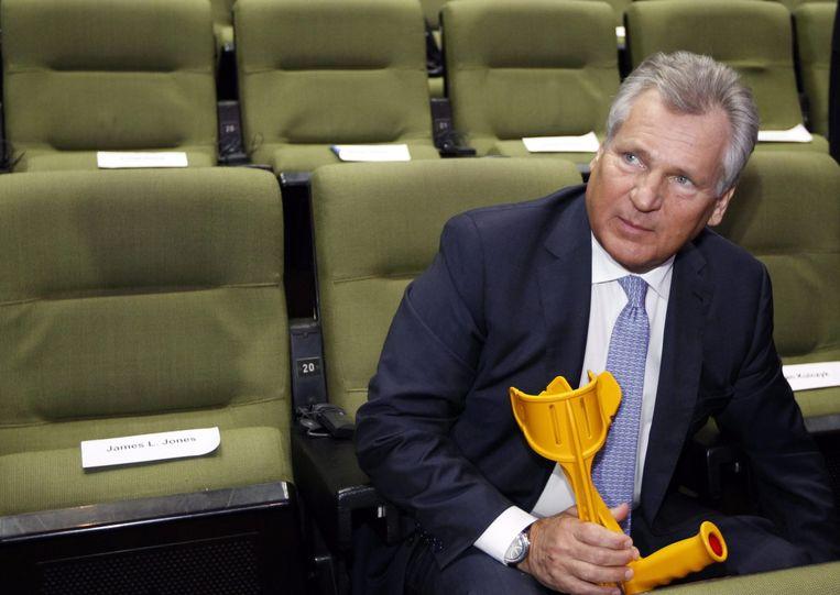 De Poolse ex-president Aleksander Kwasniewski. Beeld EPA