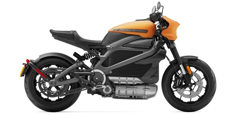 Een exemplaar van het nieuwe merk LiveWire. Beeld Harley-Davidson