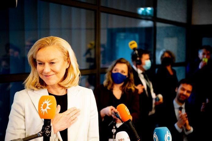 D66 onder leider van Sigrid Kaag behaalde ook in de gemeente Bladel goede resultaten.