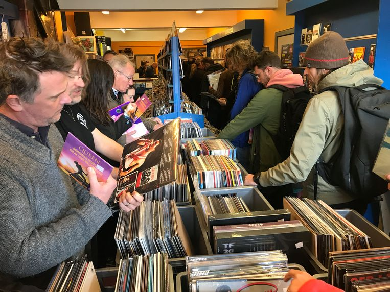 Record Store Day was een megasucces voor Compact Center