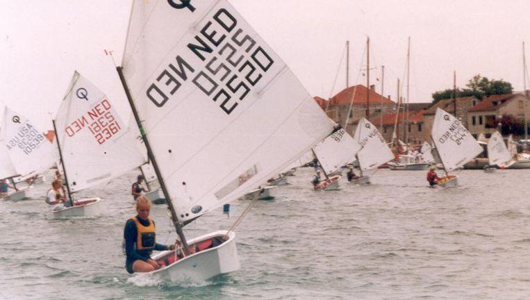 Marit Bouwmeester in 1998. Beeld