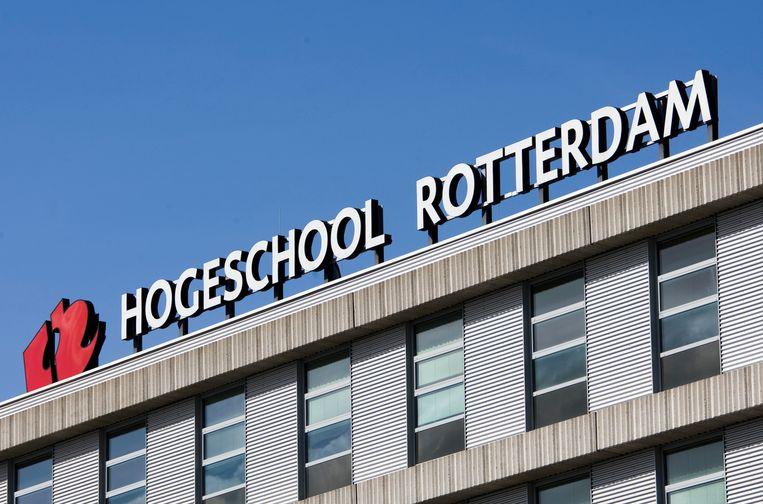 PVV en Denk zijn favoriet op de Hogeschool Rotterdam. Beeld ANP