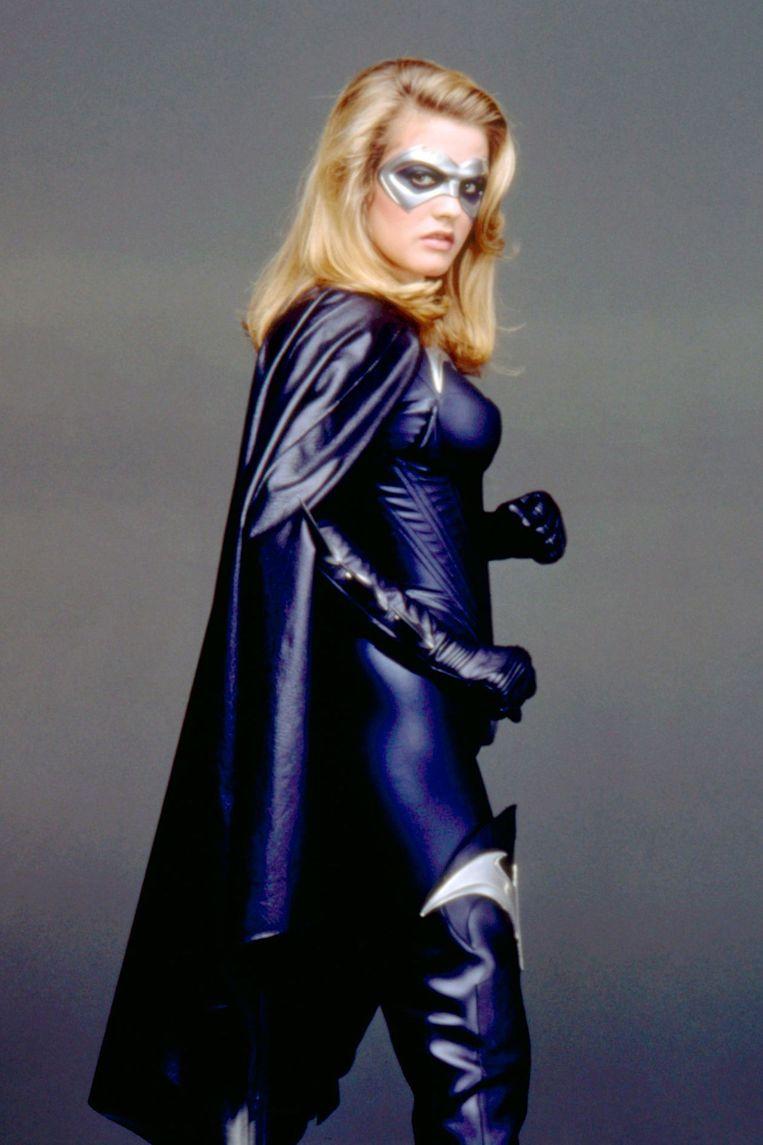 Alicia Silverstone vertolkte de rol van Batgirl in 'Batman & Robin' uit 1997.  Beeld RV