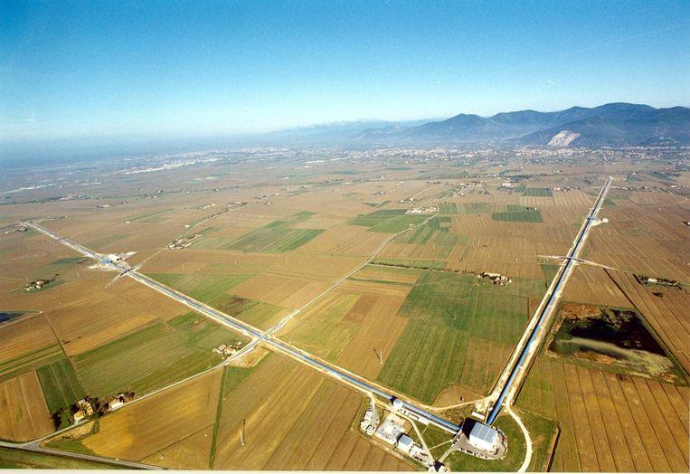 De Virgo-detector in Italië. Beeld EGO/LookatSciences