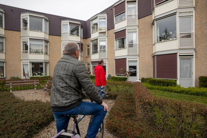 Een verzorgingstehuis in Heerde in coronatijd.