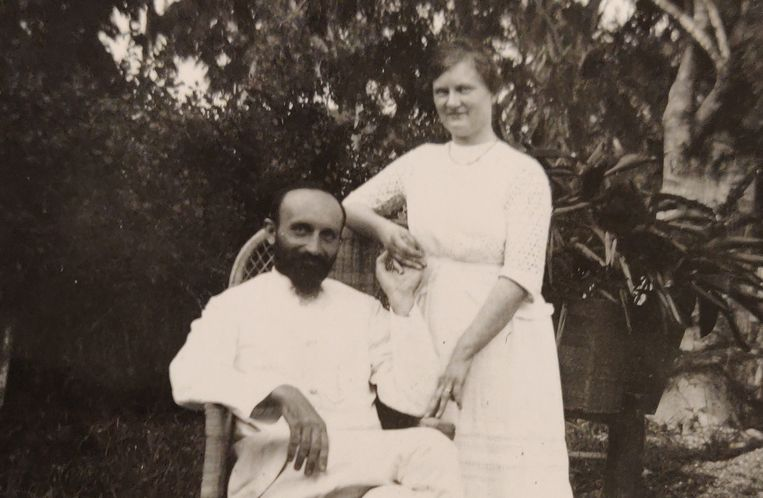 Pieter en Anna ten Kate in Nederlands-Indië Beeld Archief familie Ten Kate