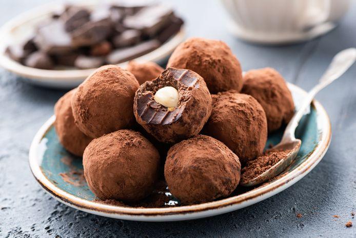 Chocoladetruffels bevatten ook dierlijke ingrediënten.