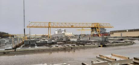 VBI bouwt nieuwe kade in Osse haven, omdat de huidige 'op' is