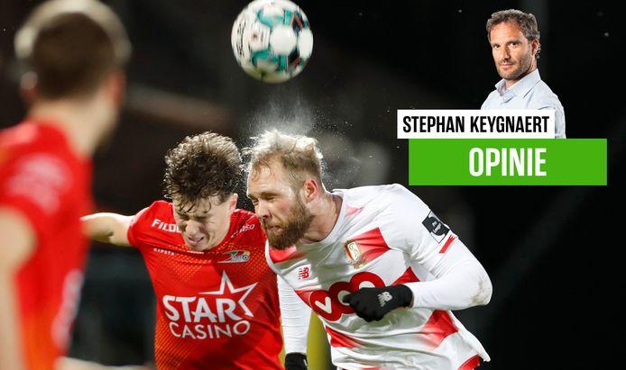 Onze chef voetbal zag een leuke pot voetbal tussen KVO en Standard.