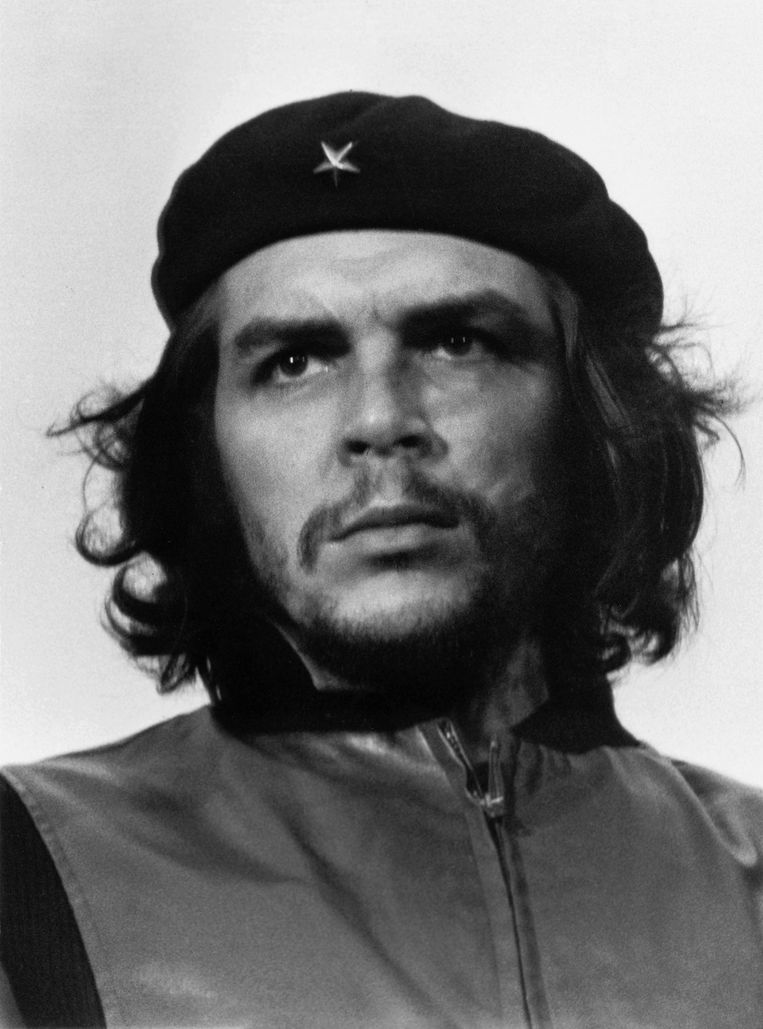 De iconische foto 'Guerrillero Heroico' werd op 5 maart 1960 in Havana genomen. Beeld Korda Estate
