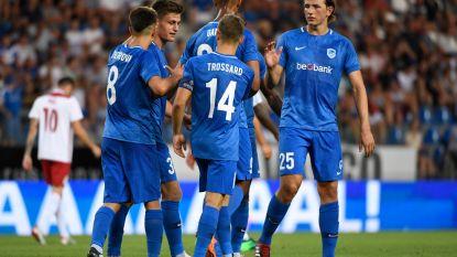Genk zet Fola Esch met forfaitcijfers opzij en maakt terugwedstrijd nu al overbodig