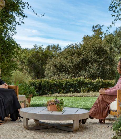 """Les experts royaux furieux après les premières images de l'interview de Meghan et Harry: """"La Reine n'est pas Don Corleone"""""""