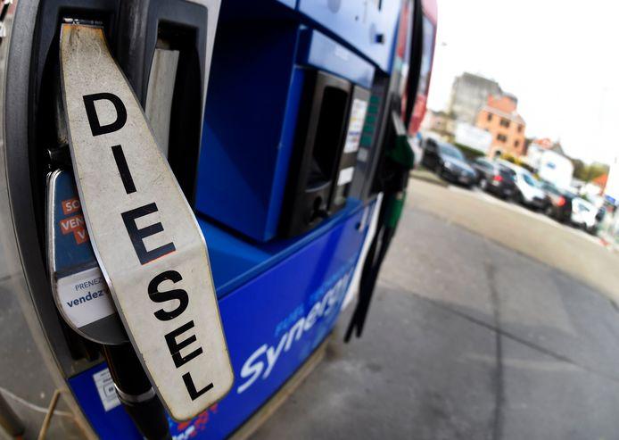 Le prix du diesel est au plus haut depuis novembre 2018.