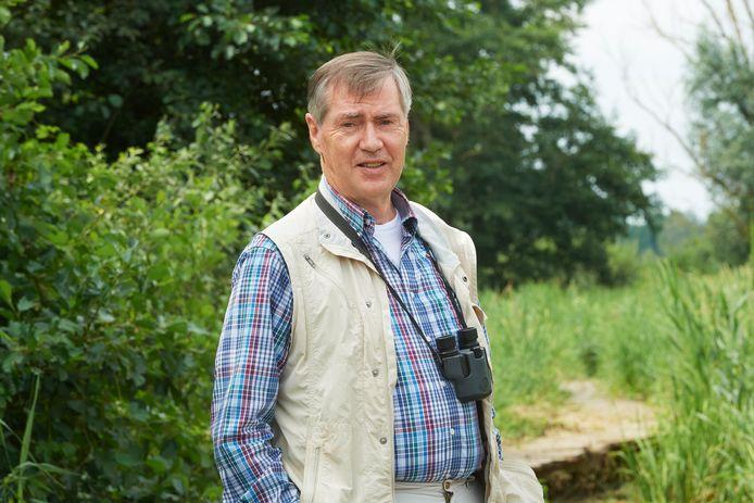 Ecoloog Nico Ettema in het Sint Annabosje in Uden.