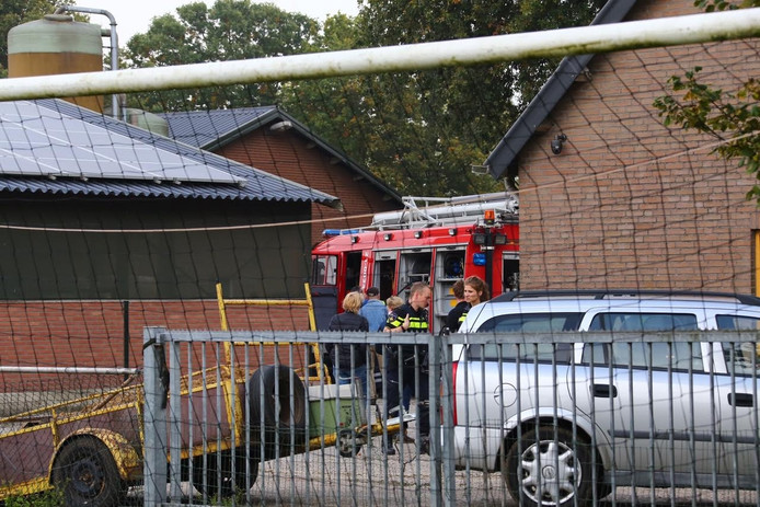 Brand in stal Schaijk snel onder controle.