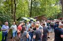 Het Bier in 't Bos festival in openluchttheater De Hunnebergen in Luyksgestel.