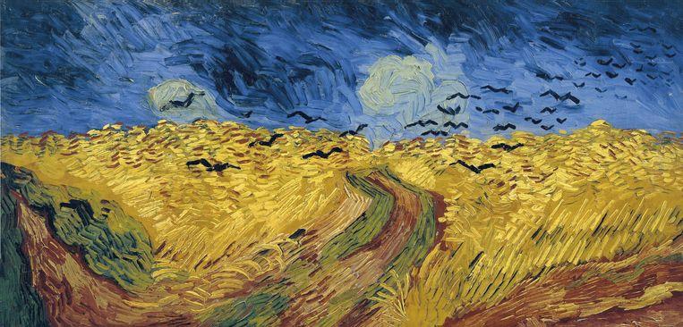 Vincent van Gogh, Korenveld met kraaien, 1890, olie op canvas, Van Gogh Museum, Amsterdam.  Beeld Van Gogh Museum, Amsterdam