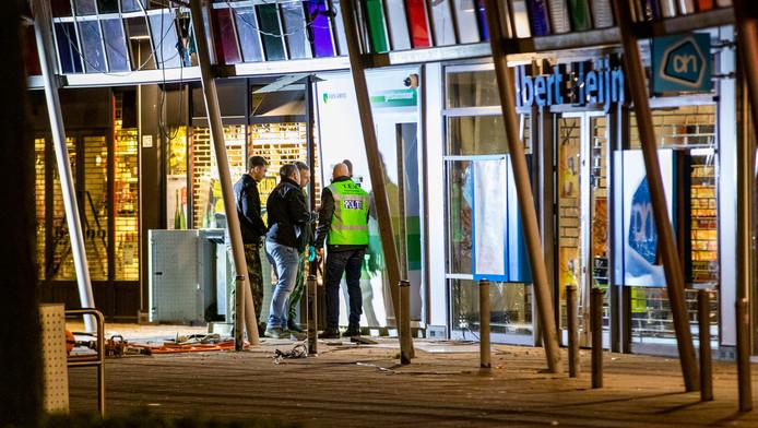 Op 5 januari werd een plofkraak gepleegd op een geldautomaat op het Belgiëplein in Nieuw-West.