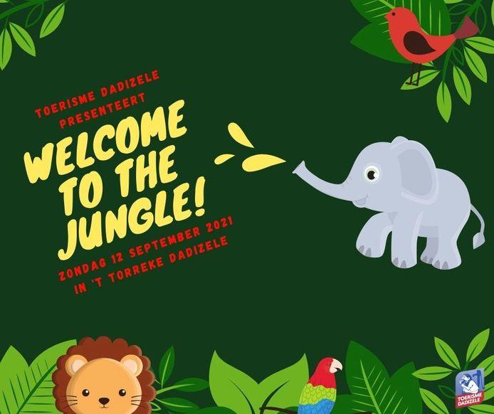 Zondag is er niet alleen een artisanale markt in Dadizele, maar gaat voor de kinderen ook de jungle open.
