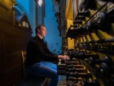 Organist Luuk (16) uit Dalfsen neemt zijn eerste cd op: in Bovenkerk in Kampen