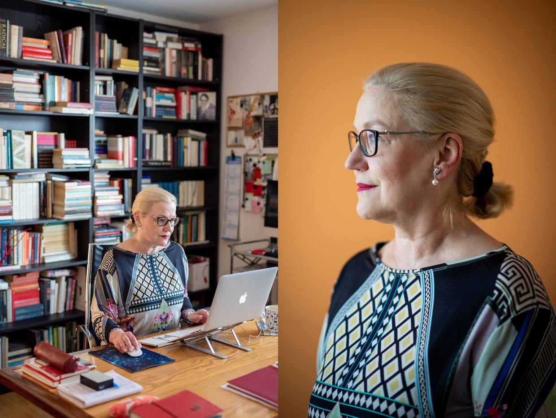 Britta Böhler: 'Als ik in de jaren dertig had geleefd, was ik dan als advocaat bereid geweest een ariërverklaring te ondertekenen? Het antwoord weet ik niet.'