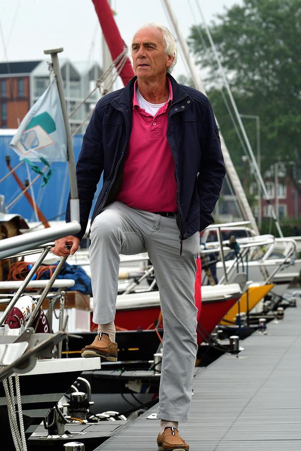 Bram Aertssen wil op de achtergrond graag bij de watersportvereniging betrokken blijven.