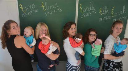 Een school, vijf baby's: Enzo, Elena, Estelle, Elle en Éonah