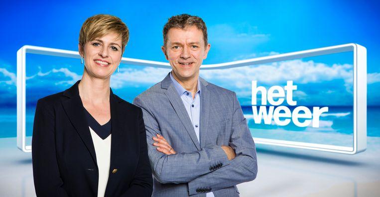 Sabine Hagedoren en Frank Deboosere Beeld VRT