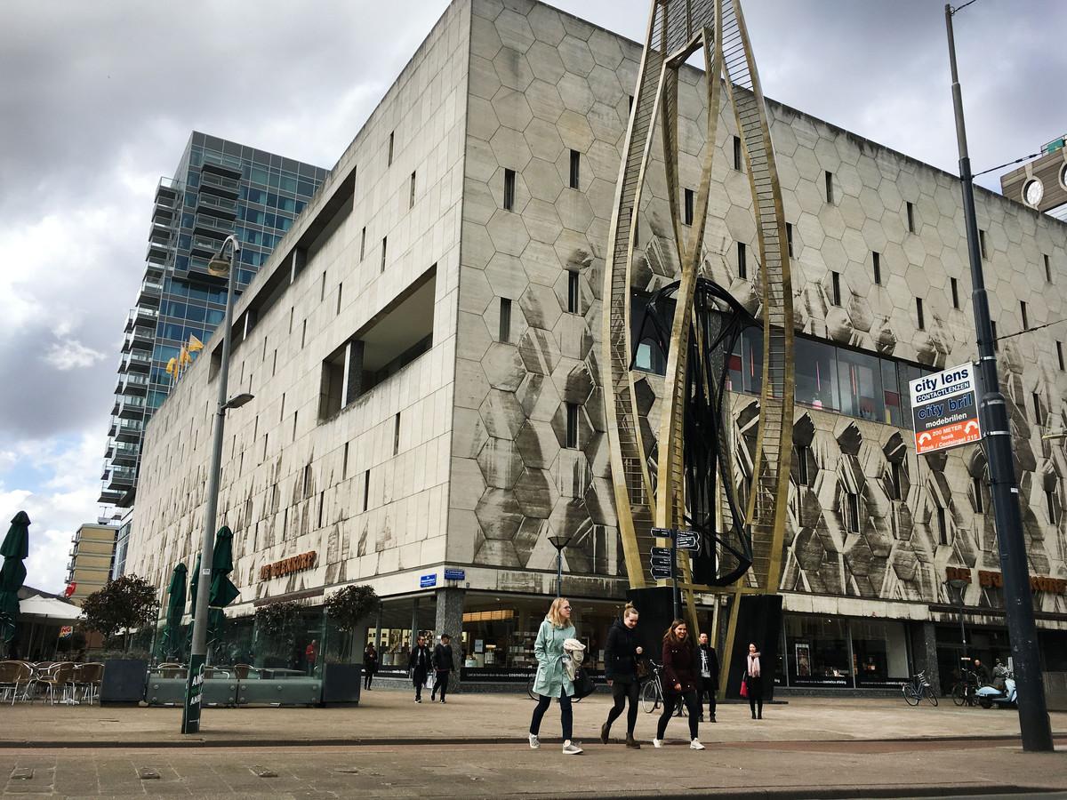De Bijenkorf aan de Coolsingel in Rotterdam.