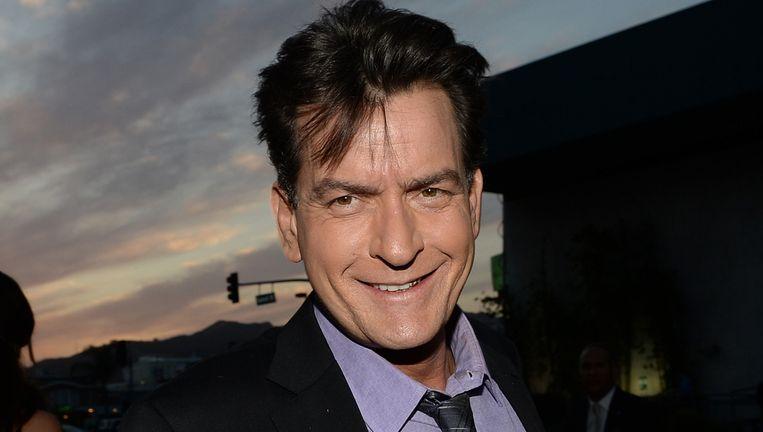 Charlie Sheen werd jarenlang afgeperst door ex-partners. Beeld AFP