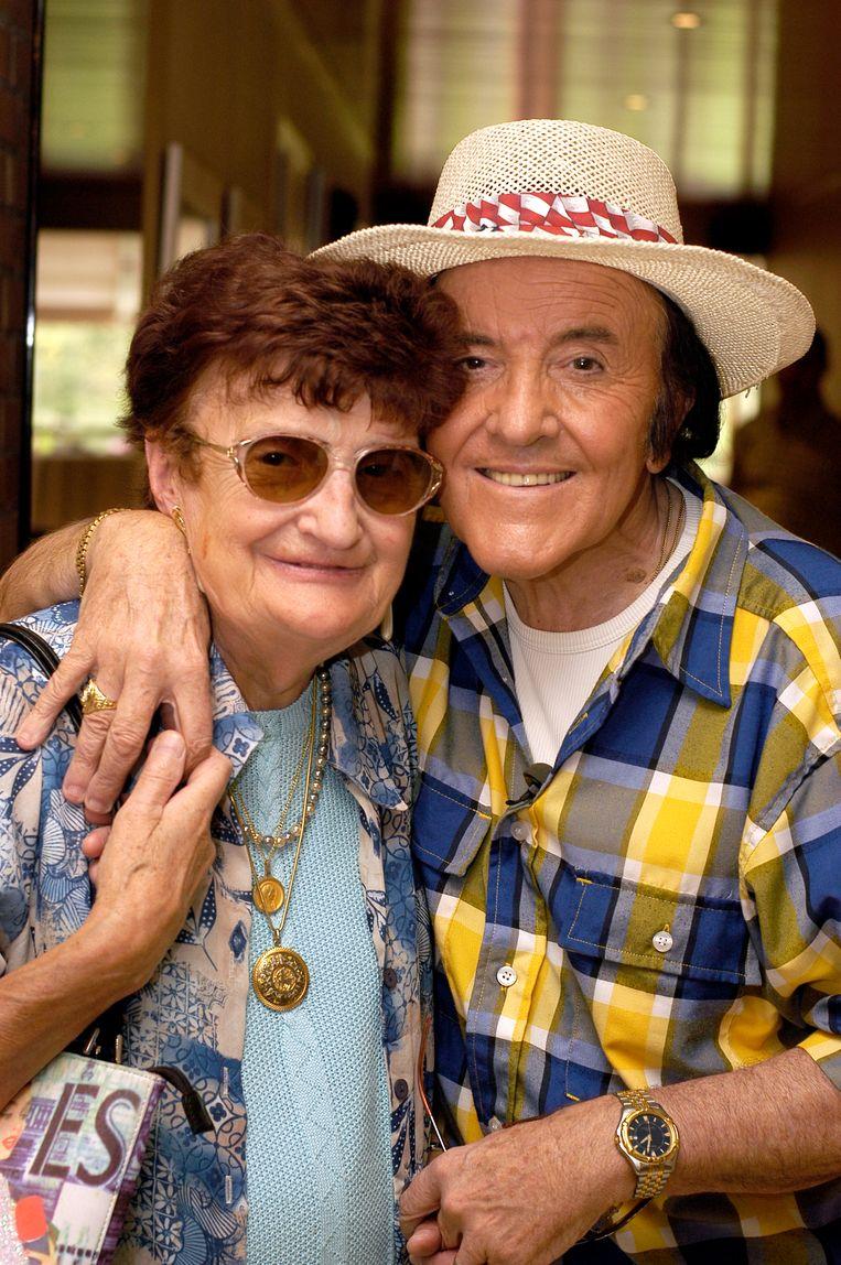 Mariette: 'Eddy Wally is een hele eenvoudige, brave man. Hij stelt geen enkele eis wat het eten betreft. ' Beeld Michel De Sorte