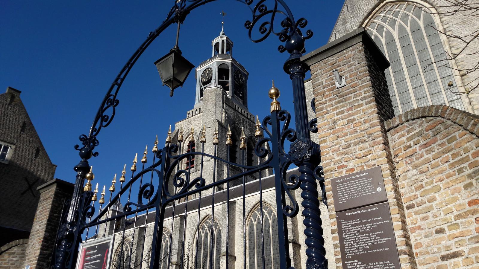 De Gertrudiskerk ontpopte zich dit jaar tot de toeristische trekker van Bergen op Zoom.