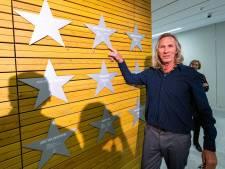 Oud-rugbyinternational Michel van der Loos lag vijf dagen in coma, maar hij is er nog