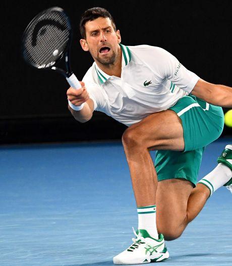 Opgelapte Djokovic stoot met 300ste grandslamzege door tot kwartfinales