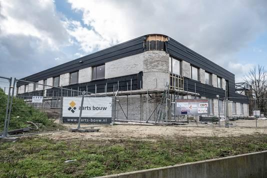 De nieuwe school vordert in Gennep.