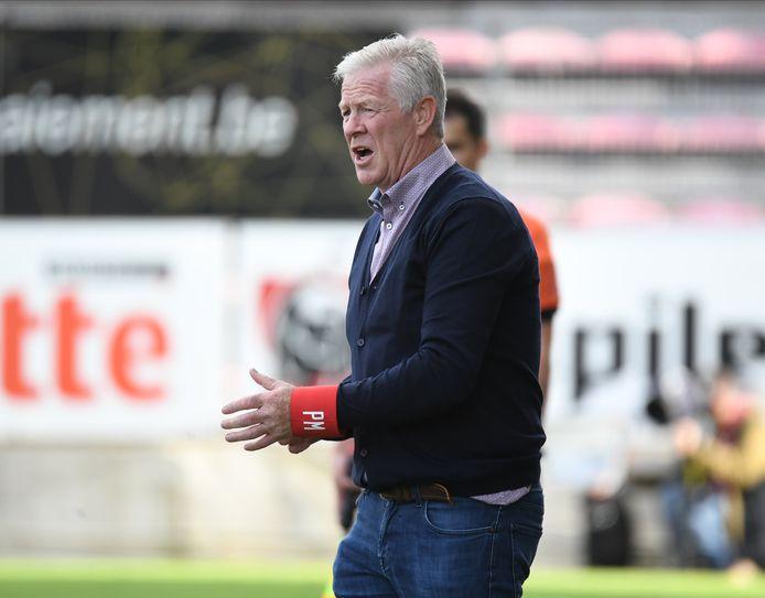 Peter Maes tijdens Beerschots match op Charleroi.