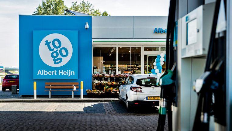 Voor Albert Heijn maakt de sprong naar de snelweg deel uit van de groeiplannen voor AH to go. Beeld anp