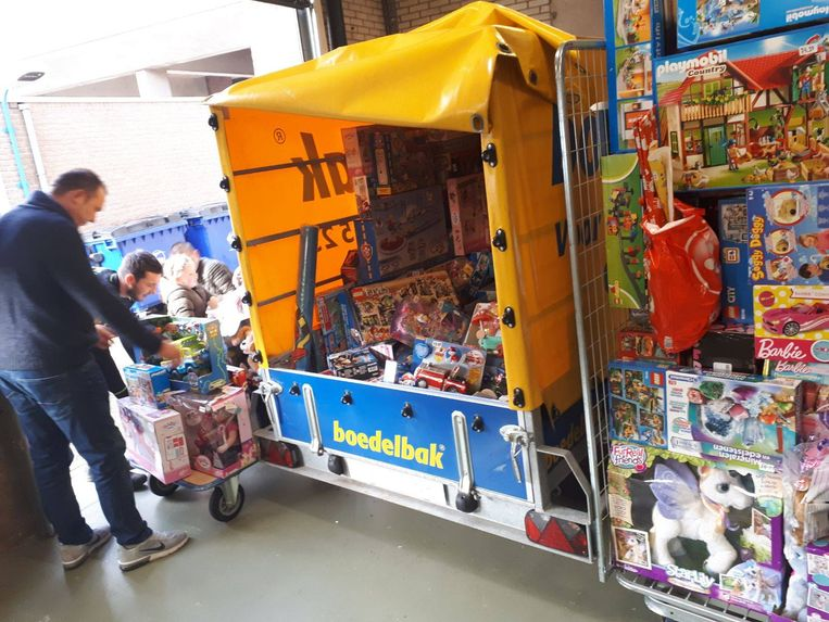 Het gestolen speelgoed heeft een verkoopwaarde van liefst 18.000 euro.