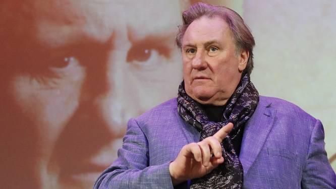 """Aangeklaagde Gérard Depardieu: """"Ik heb niets te vrezen"""""""