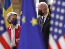 EU en VS beëindigen handelsoorlog: 'Stappen' naar oplossing luchtvaartconflict, straftarieven opgeschort