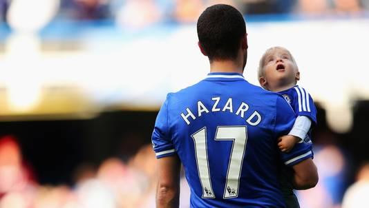 Eden Hazard krijgt bij Chelsea volgend seizoen dus het nummer 10 toegewezen.