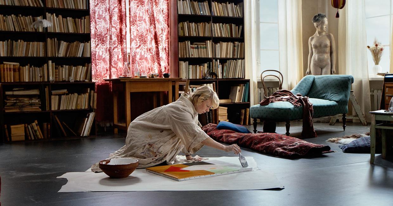 Alma Pöysti als de Finse kunstschilder Tove Jansson. Beeld