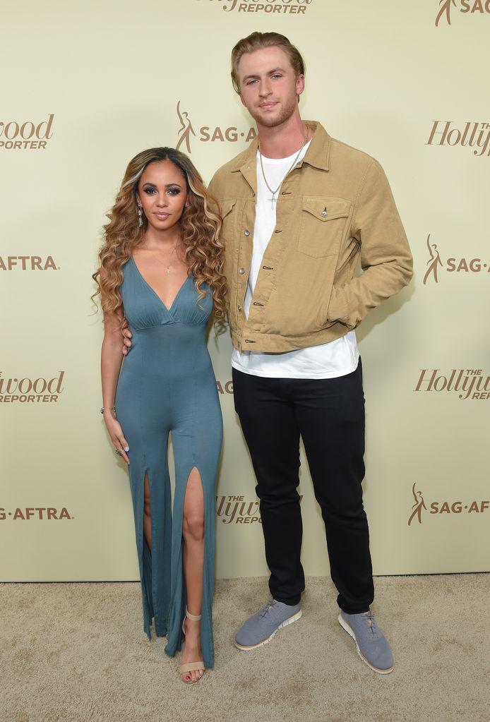 L'actrice Vanessa Morgan et son (ex-)mari le joueur de baseball Michael Kopech.
