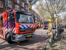 Brand aan de Mathenesserdijk: vuur onder controle en man aangehouden