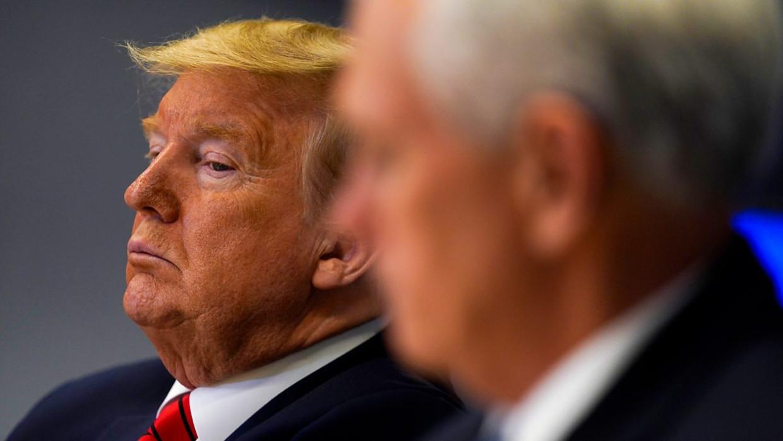The Trump Show: Downfall Beeld BBC