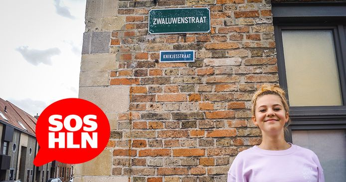 Brugge knikjesstraat: Zarra Neirynck