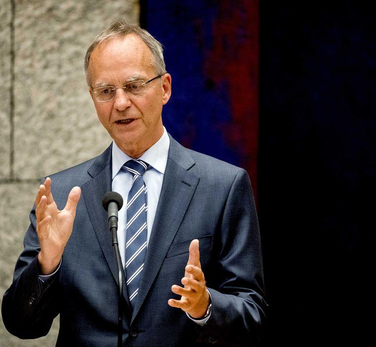 De Nederlandse minister van Economische Zaken Henk Camp.