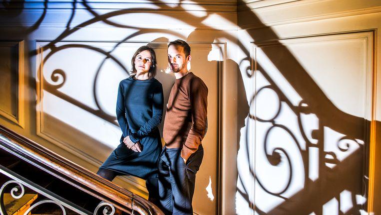 Isabelle Blancke en Alexander Dierendonck. Beeld Stefaan Temmerman