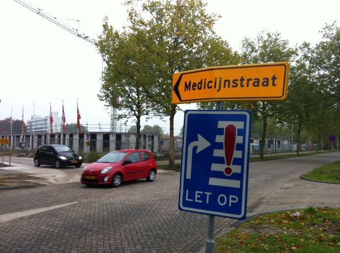 De GGZ komt aan de Gezondheidslaan 1 te zitten, waar het nu nog de Medicijnstraat is.