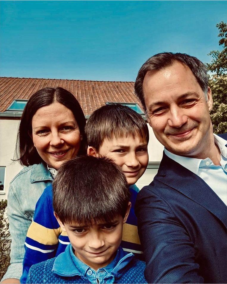 'Mijn kinderen vinden het super dat mijn bodyguards meegaan als ik ze naar school breng.' Beeld Humo